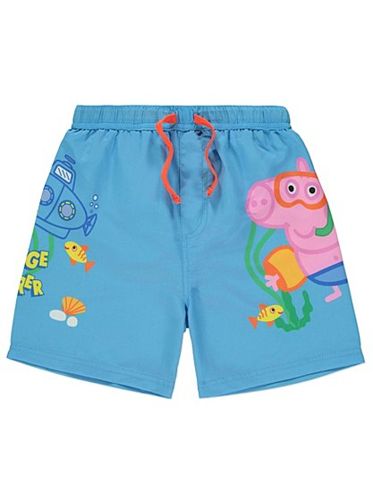 Peppa Pig George Swim Shorts Kids George At Asda