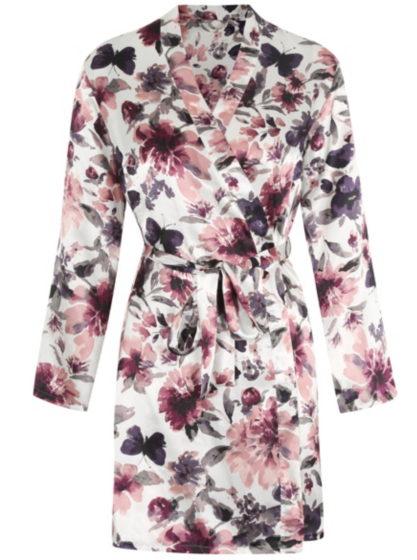 Floral Wrap Dressing Gown | Women | George at ASDA