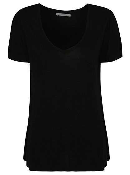 V- Neck T-shirt | Women | George at ASDA