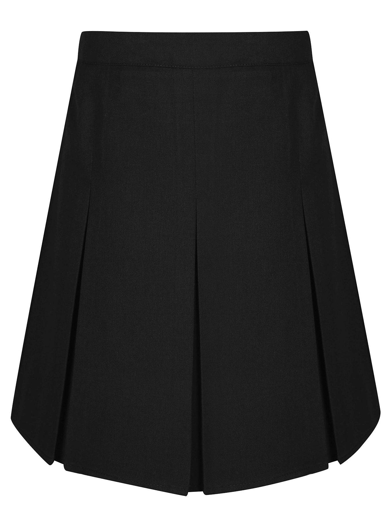 374b2087ce Girls Black School Pleated Skirt | School | George