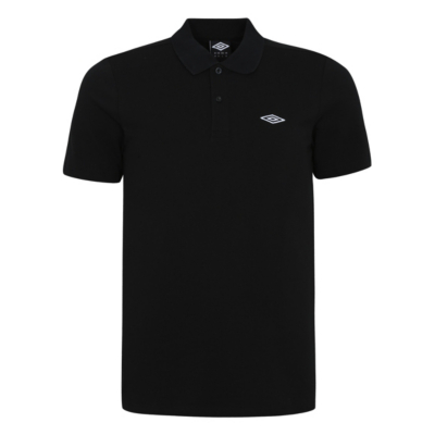 George Umbro Polo Shirt - Black, Black.