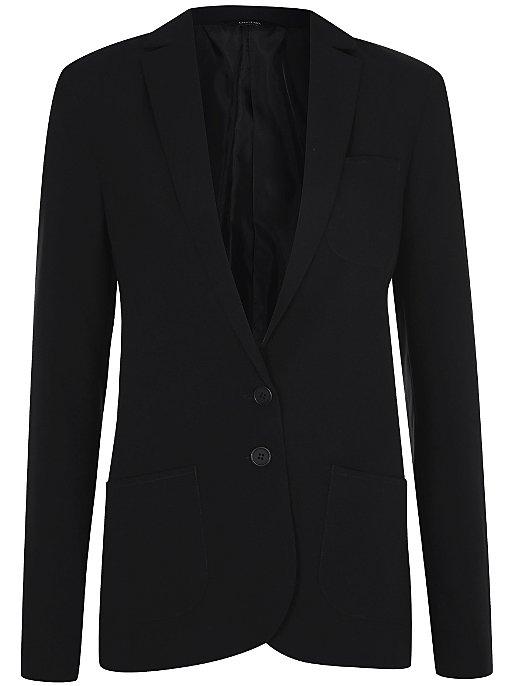 23bd469fa Girls Black Regular Fit School Blazer
