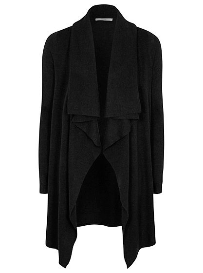 Thin Knit Waterfall Cardigan | Women | George at ASDA