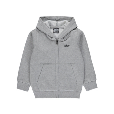 George Umbro Hoodie - Light Grey, Light Grey.