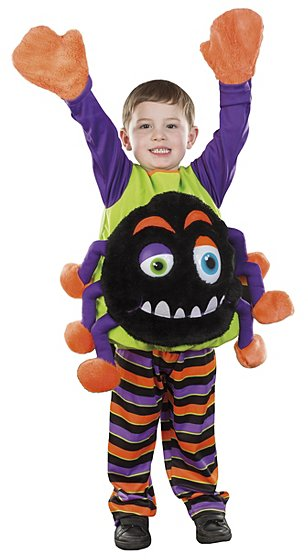 halloween spider 2 piece fancy dress costume kids george at asda - Kids Spider Halloween Costume