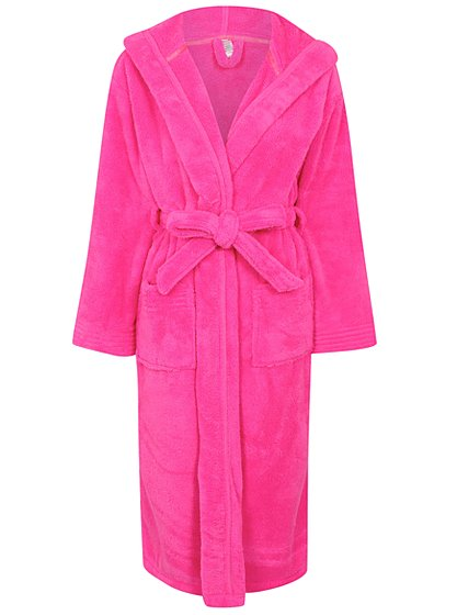 Supersoft Hooded Dressing Gown | Women | George at ASDA
