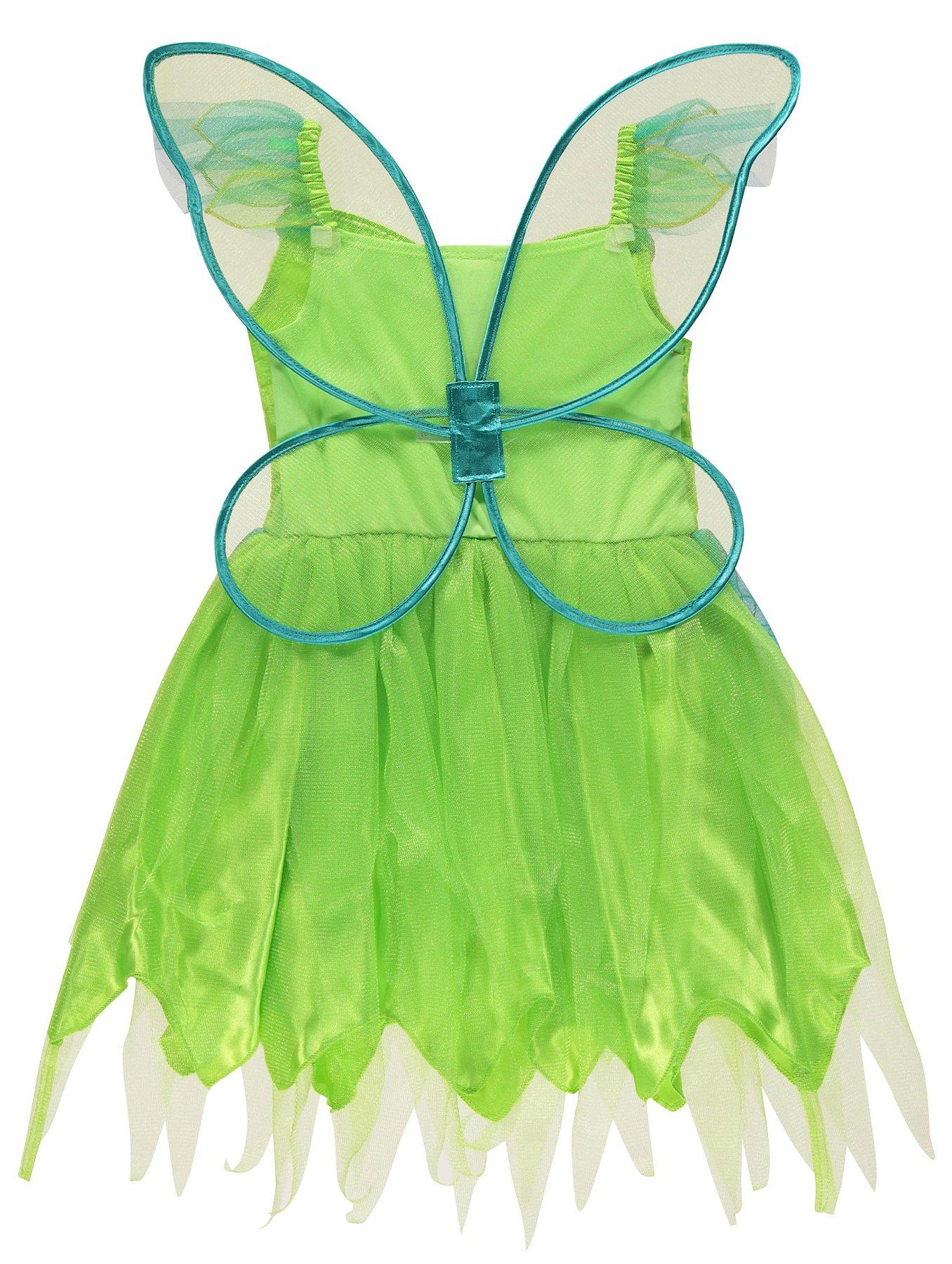 Disney Fairies Tinkerbell Fancy Dress Costume | Kids | George at ASDA