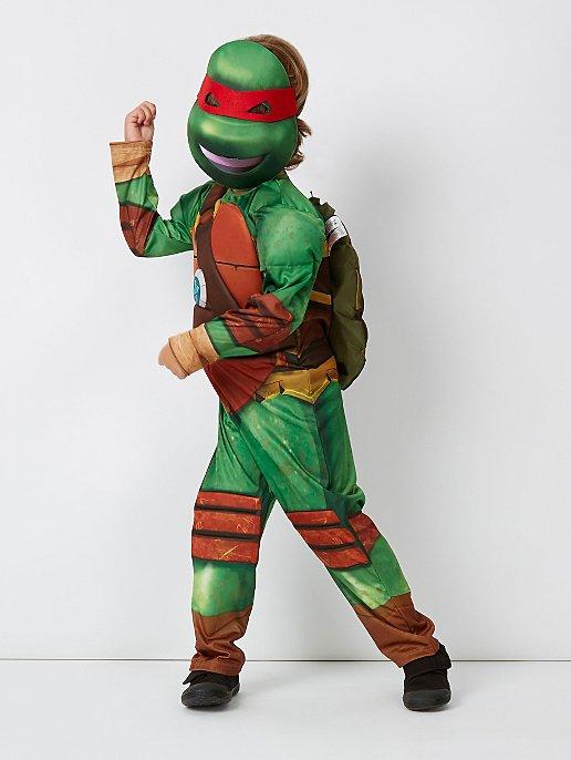 Geluid Fancy kostuum Ninja Kinderen Teenage Mutant Met Dress Turtles L54jR3A