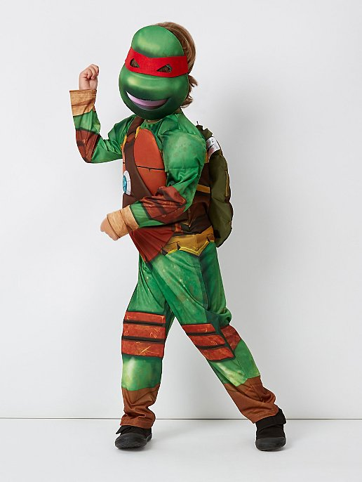 6cd55e51a3c Teenage Mutant Ninja Turtles Fancy Dress Costume With Sound