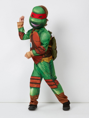 Teenage Mutant Ninja Turtles Fancy Dress Costume With Sound | Kids | George & Teenage Mutant Ninja Turtles Fancy Dress Costume With Sound | Kids ...