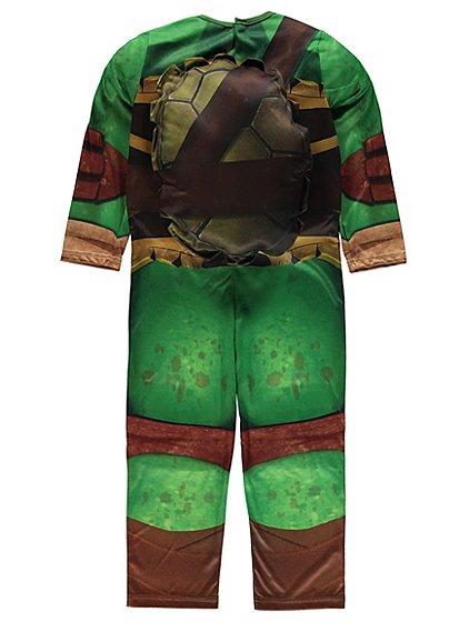 teenage mutant ninja turtles fancy dress costume with sound kids