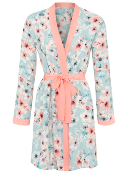 Print Chiffon Wrap Dressing Gown | Women | George at ASDA