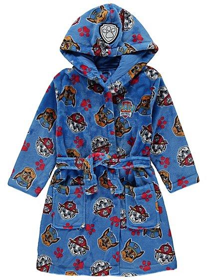 Paw Patrol Hooded Dressing Gown   Kids   George at ASDA