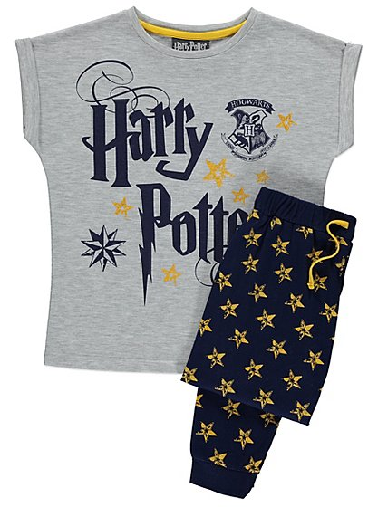 harry potter pyjamas kids george at asda. Black Bedroom Furniture Sets. Home Design Ideas