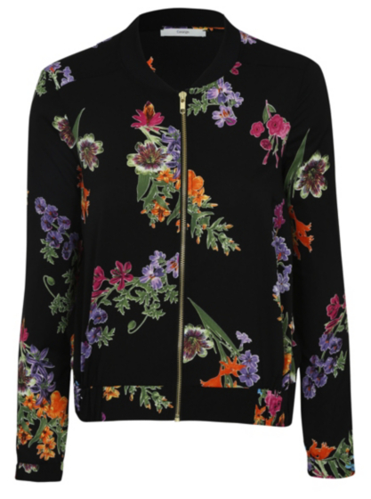 Forever 21 LA CA Womens Jacket Bomber Satin Floral Zipper Blue Size Medium. Isani for Target Women's Luminous Floral Bomber Jacket - Size Medium See more like this. GIMMICKS FLORAL BOMBER JACKET,Buckle, Light Weight Satin Bomber Jacket, .