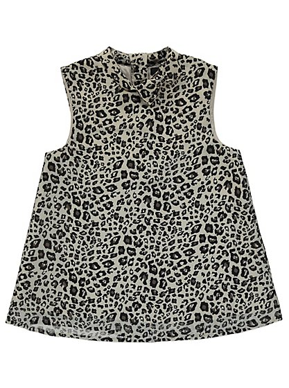 Leopard print bow top kids george at asda for Leopard print shirts for toddlers