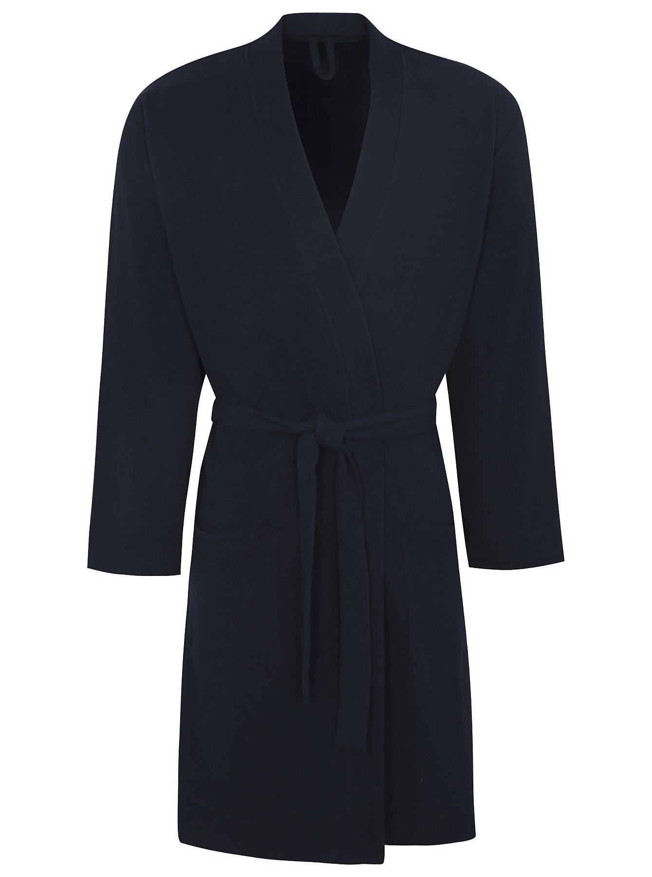 Waffle Dressing Gown - Navy | Men | George