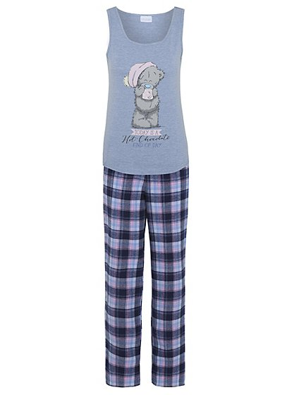 Tatty Teddy Dressing Gown and Pyjama Set   Women   George at ASDA