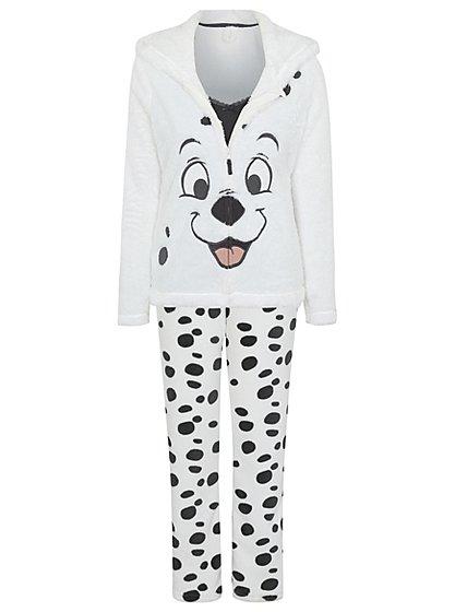 Disney 101 Dalmatians Pyjama Set Women George At Asda