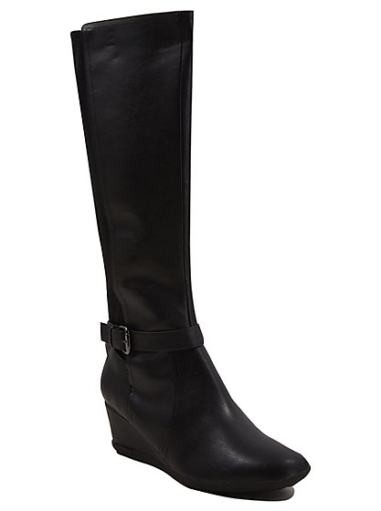 Soft Sole Wedge Heel Boots Women George At Asda