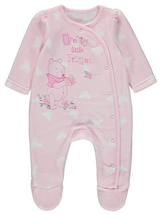 24776b90f Disney Winnie the Pooh Fleece Sleepsuit