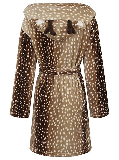 Reindeer Dressing Gown | Women | George at ASDA