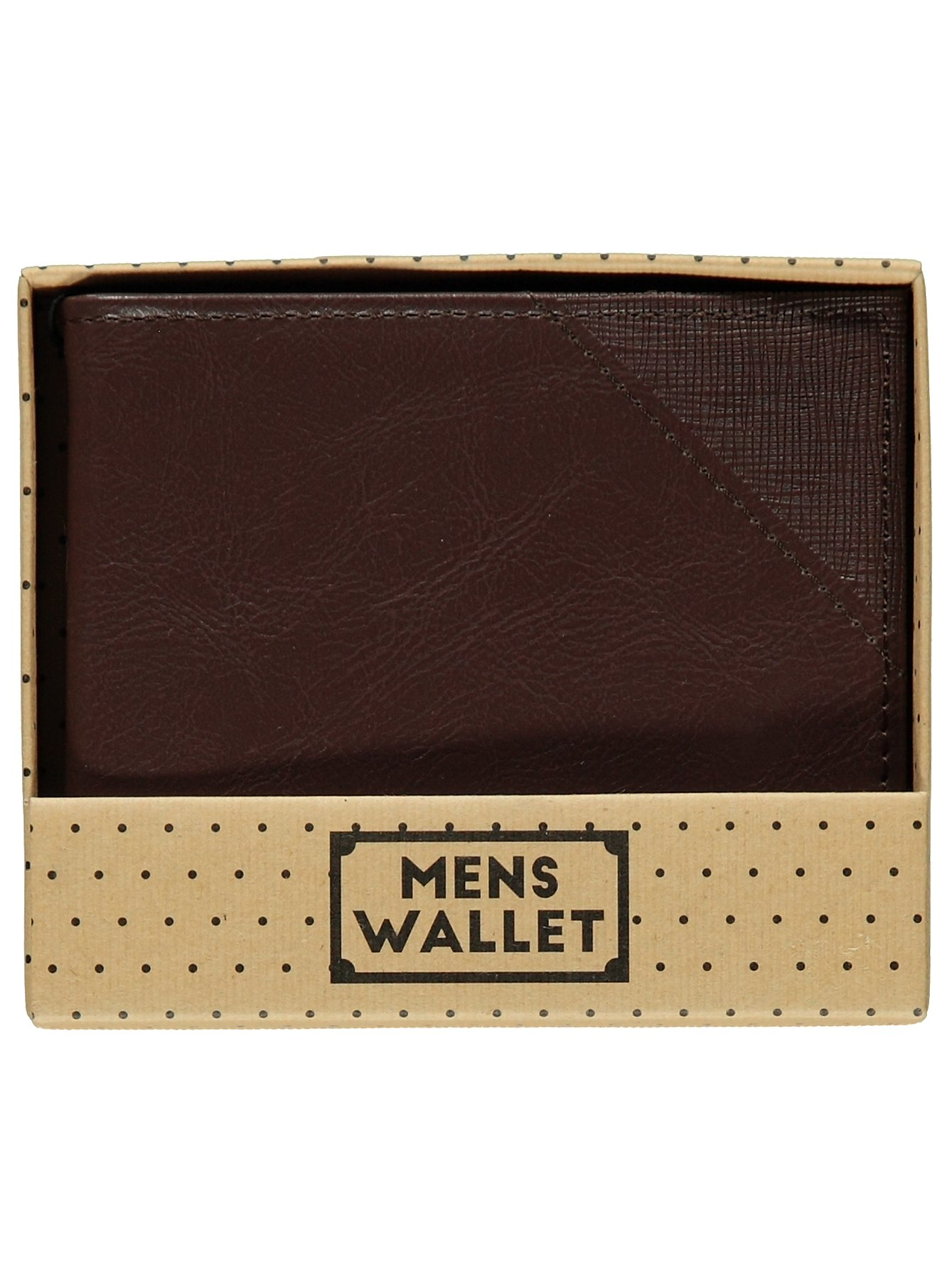 Faux Leather Wallet | Men | George at ASDA