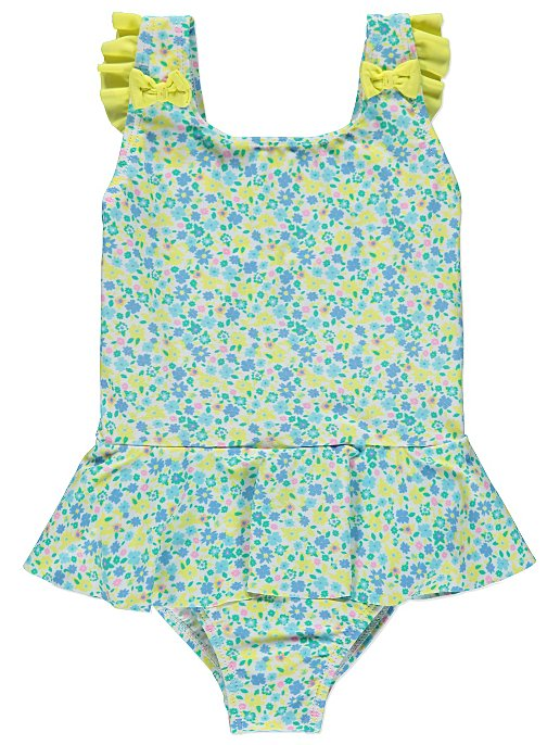 3686b64f33b4f Frilly Floral Swimsuit. Reset