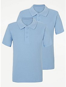 21c00fb75bf7 Boys School Polo Shirts - Boys School Uniform | George at ASDA