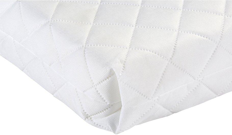Rafferty Cot And Mattress Bundle White