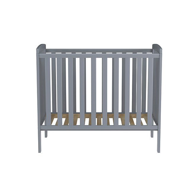 best loved 6c84d 32458 Rafferty Compact Cot - Grey
