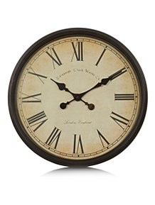 Old World Oversize Wall Clock