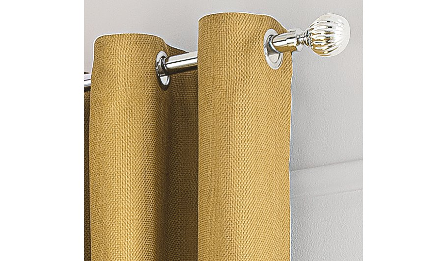 Textured Weave Eyelet Curtains