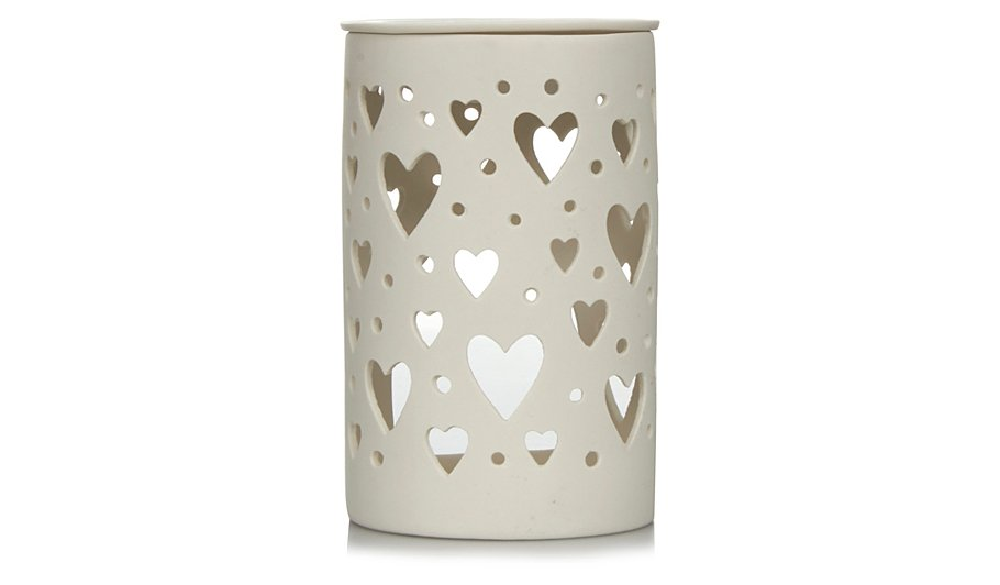 George Home Hearts Cut-out Oil Burner | Home & Garden | George at ASDA