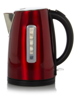 Image of 1.7L Fast Boil Kettle - Red