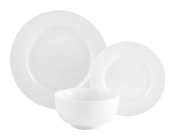 George Home White Porcelain Tableware Range