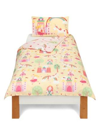 George Home Fairy Princess Duvet Set