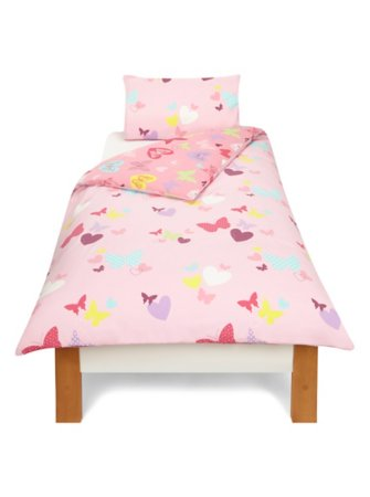 Butterfly Hearts Bedding Range