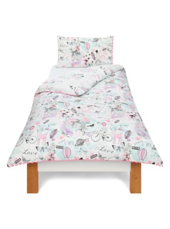 George Home Collage Duvet Set