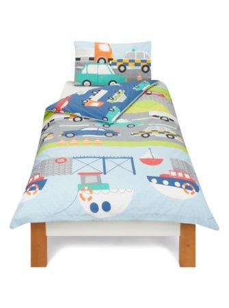 Transport Toddler Bedding Range