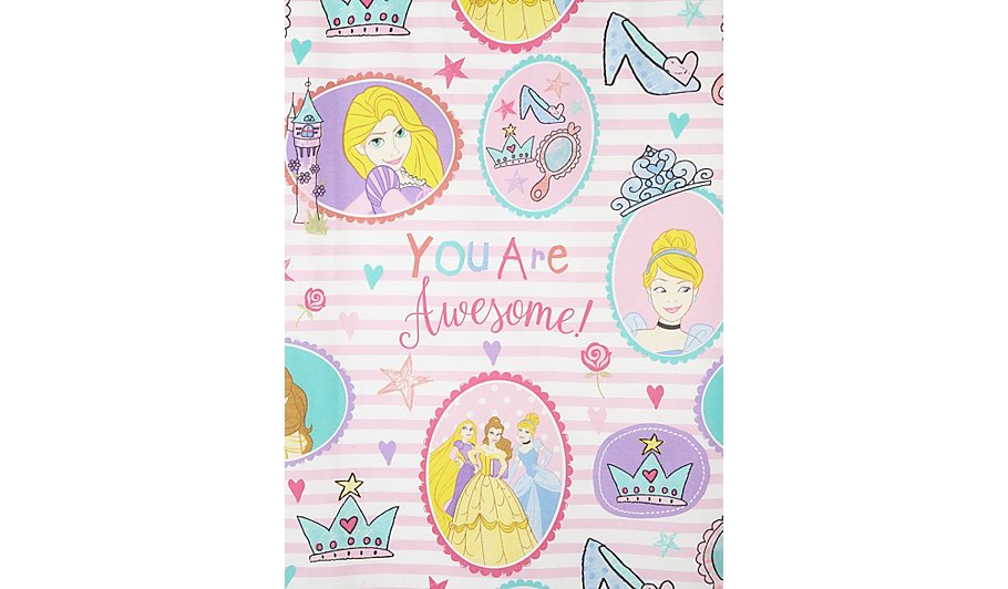 Disney princess curtains asda curtain menzilperde net for Disney princess mural asda