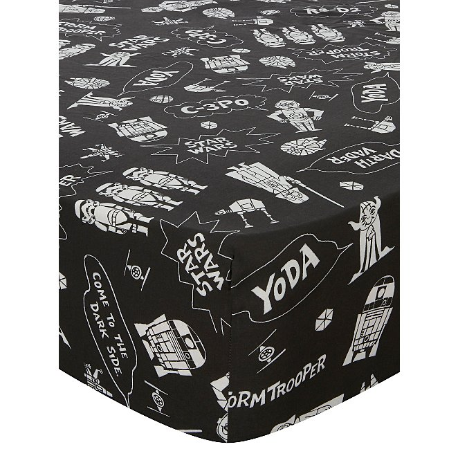 48bd2b1964e Star Wars Fitted Sheet - Single