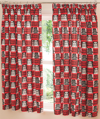 Captivating Star Wars Curtains   66x54 Inch