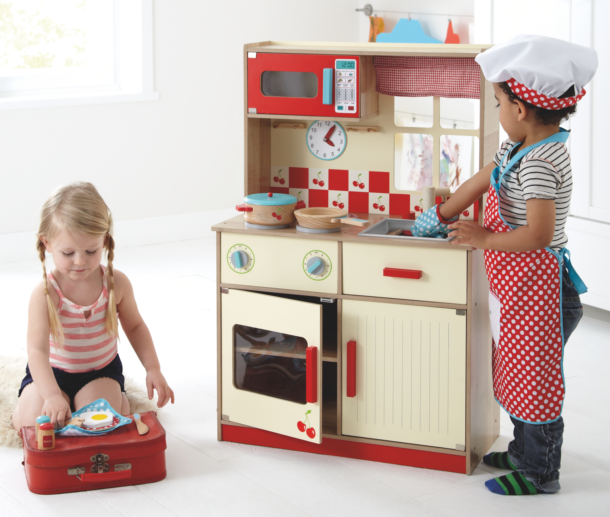 George Home Deluxe Kitchen Kids George At Asda