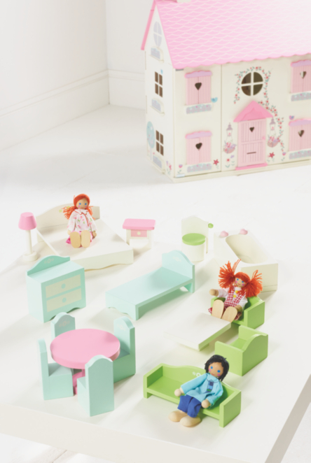 Dollhouse Furniture Set Toys Character George