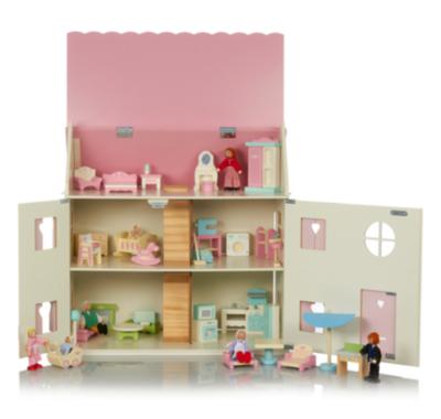 George Home Large Dolls House Furniture Set Bundle