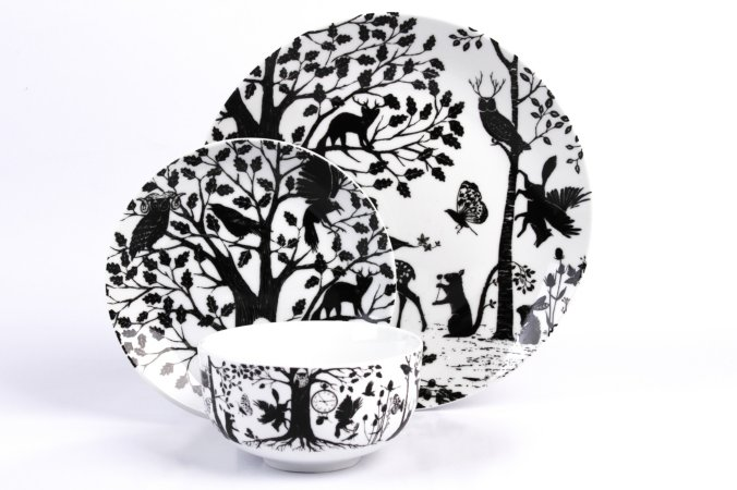 George Home Enchanted Forest Tableware Range