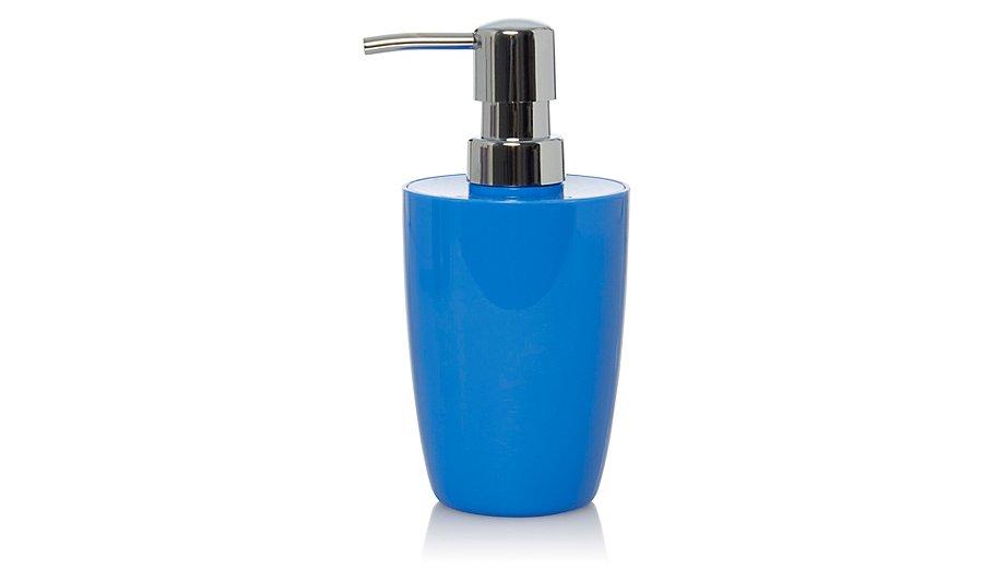 Blue Soap Dispenser Home Garden George At Asda