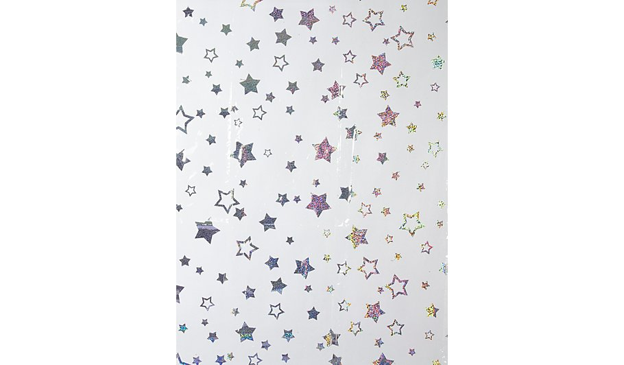 Hollographic Star Shower Curtain | Home & Garden | George at ASDA