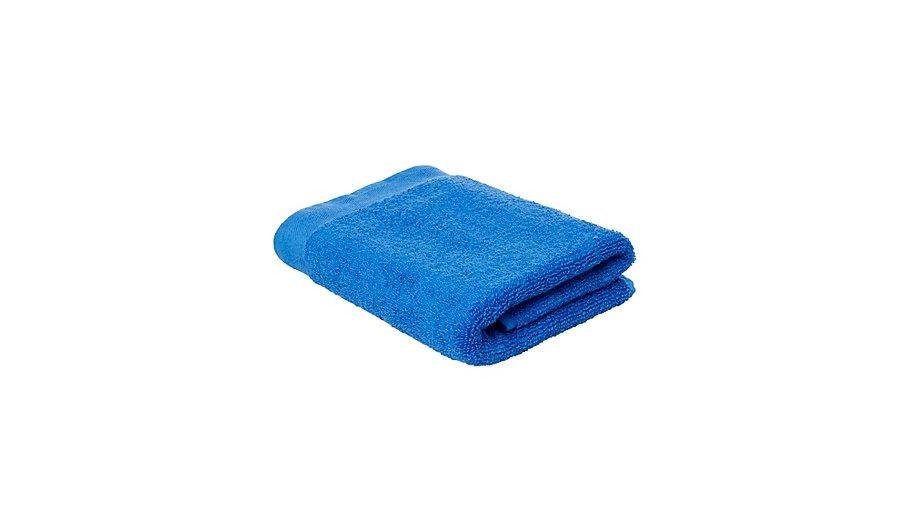 100 cotton hand towel brilliant blue home garden. Black Bedroom Furniture Sets. Home Design Ideas